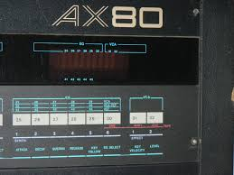 infrequent sound tex technology akai ax 80 programmable