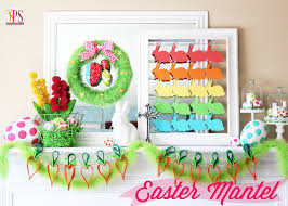 Easter Decorations On Mantel by 20 Exquisite Easter Mantel Decorating Ideas Simplistically Living