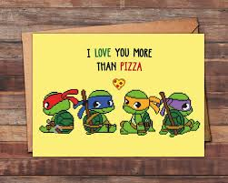 nerdy s day cards geeky i you more than pizza card mutant