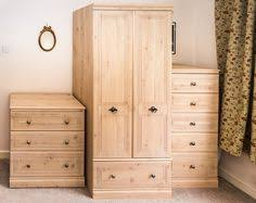 5 piece solid oak finish bedroom set by burlington house of