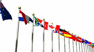 Flag In Computer 3d Flags In The Wind Hd1080 Royalty Free Video And Stock Footage