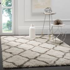 safavieh dallas shag gray ivory 8 ft x 10 ft area rug sgd258g 8