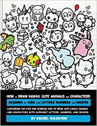how to draw kawaii cute animals and characters drawing for kids