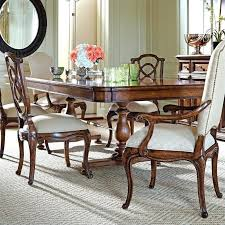 stanley pedestal dining table stanley dining room sets pedestal dining table discontinued stanley
