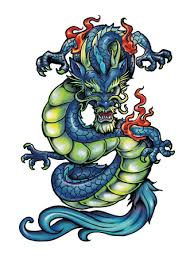 inspiring traditional chinese dragon tattoo design