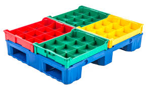 berry rackable plastic pallets plastic skids daco
