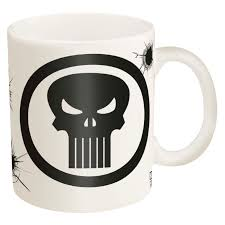 marvel coffee mugs for sale the punisher zak zak designs
