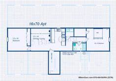Barn Plans With Loft Apartment 3 Stall Horse Barn Plan One Level My Style Pinterest Horse