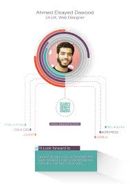ui design cv ahmed dawood ui ux and web designer cv on behance