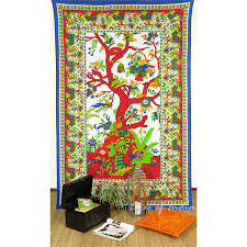 Wall Rugs Hanging Tree Of Life Bedspread Bohemian Boho Tapestry Hippie Wall Hanging