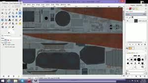world of warships ship skining tutorial gimp dds converter