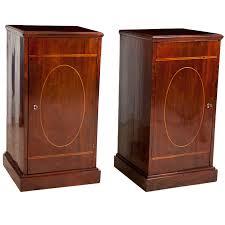 Pedestal Cabinets Pair Of English Regency Pedestal Cabinets C 1820 Bonnin Ashley
