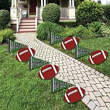 football decorations end zone football baby shower decorations theme