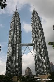 petronas twin towers kuala lumpur ruebarue