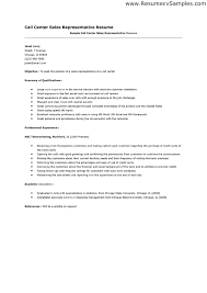 Sample Resume Sales Representative by Call Center Resume Examples No Job Experience Resume Examples How