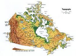 canada topographic maps topographic map