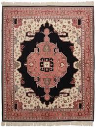 Antique Indian Rugs Vintage Indian 8 X 10 Wool Rug 2441 Exclusive Oriental Rugs