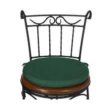 Sunbrella Bistro Chair Cushions with Round Garden Chair Cushion Pad Only Waterproof Outdoor Bistro