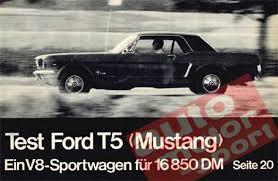 mustang t5 mustang of germany t5 register history