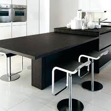 ilot cuisine avec table ilot cuisine avec table coulissante pour idees de deco newsindo co