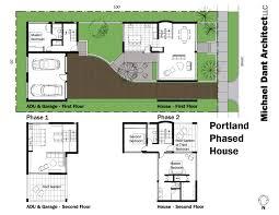 portland phased house michael dant architect