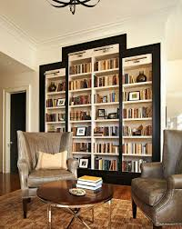 bookcases black bookcase in large living room with white and grey
