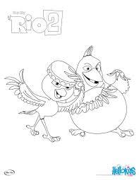 rio 2 nico u0026 pedro coloring pages hellokids com