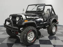 1974 jeep renegade black 1974 jeep cj5 for sale mcg marketplace