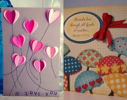 handmade card ideas for friends modern homemade