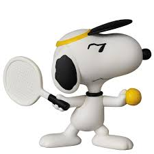 peanuts series5 tennis player snoopy planned shipped