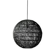 Sphere Pendant Light Braided Cable Spherical Pendant Light Temple U0026 Webster