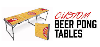 Custom Beer Pong Tables by Pong University