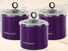 purple canisters for the kitchen russellhobbs purple toaster i purple