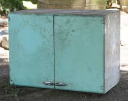 Vintage Blue Cabinets Vintage Lyon Metal Folding Chair Metal Folding Chair