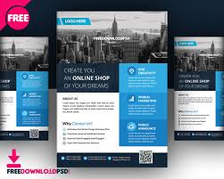 real estate brochure templates psd free real estate multipurpose flyer freedownloadpsd