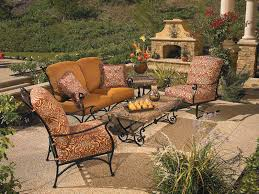 Cast Iron Patio Set Table Chairs Garden Furniture by Outdoor Patio Furniture Linly Designs