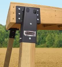 Deer Blind Elevators Amazon Com Summit Outdoor E1088 4 X 4 Compound Angle Elevator