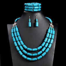 necklace earring bracelet set images Uddein nigerian wedding indian jewelry sets beads necklace earring jpg