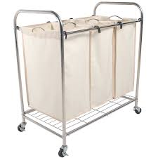 Ideas For Laundry Carts On Wheels Design Rolling Laundry Carts With Wheels With Lohas Heavy Duty