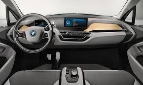 Bmw Interior Options Bmw I3 Central View Dashboard Digital Modern Interior Car White