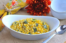thanksgiving veggies roasted poblano creamed corn thanksgiving com