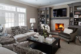 Modern Classic Interiors Modern Family Room New York By - Interior design modern classic