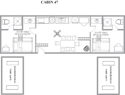 loft cabin floor plans s loft cottages 45 47 413 yogi s