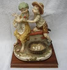 capodimonte n crown pottery giuseppe armani florence