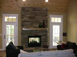 dry stack stone fireplace fireplace ideas