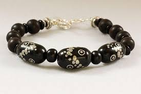 black prayer beads bracelet images Old yemeni prayer bead bracelet with black annbrooksstudio jpg