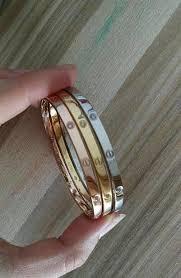 titanium steel love bracelet images Cartier jewelglitz jpg