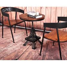 eiffel tower table po retro industrial eiffel tower bistro table set on carousell