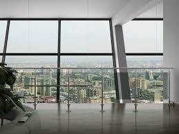 Indoor Banister Indoor Balcony Railing Indoor Railing Stainless Steel Glass Panel
