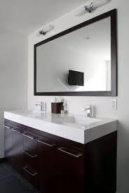 Espresso Bathroom Mirrors Fiorella Design Bathrooms Modern Espresso Stained Double